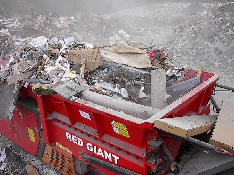 Дробилка для строительного мусора
